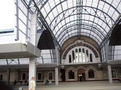 Покриване на перони – Централна гара, гр.Кишинев, Молдова