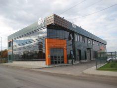 Производствена сграда за пластмасови опаковки, Складове, Офиси и Кафене в промишлено складова зона Мрамор.