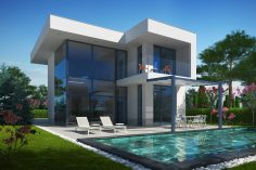 Villa complex with hotels and single family houses, Aheloy city